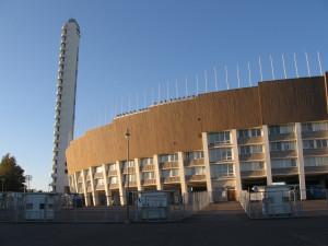 Хельсинки # Олимпийский стадион Хельсинки – и его удивительный ангел-хранитель-pic01