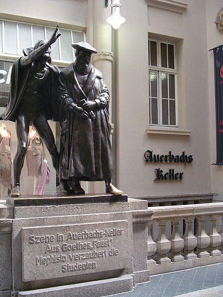 Ауэрбах в лейпциге