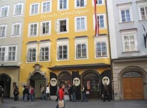 Зальцбург # Посещение дома Моцарта-pic01