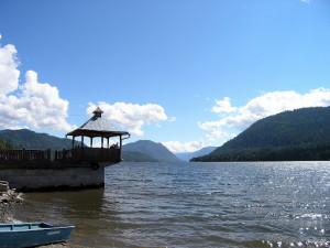 Алтай # Телецкое озеро и водопад Корбу-pic01