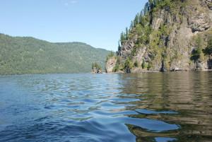 Алтай # Телецкое озеро и водопад Корбу-pic03