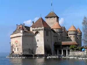 Швейцария # Шильонский замок – место действия легендарной поэмы Байрона!-pic01