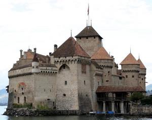 Швейцария # Шильонский замок – место действия легендарной поэмы Байрона!-pic04