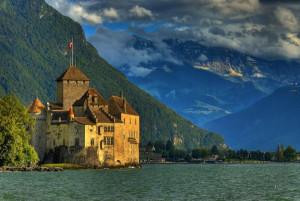 Швейцария # Шильонский замок – место действия легендарной поэмы Байрона!-pic05